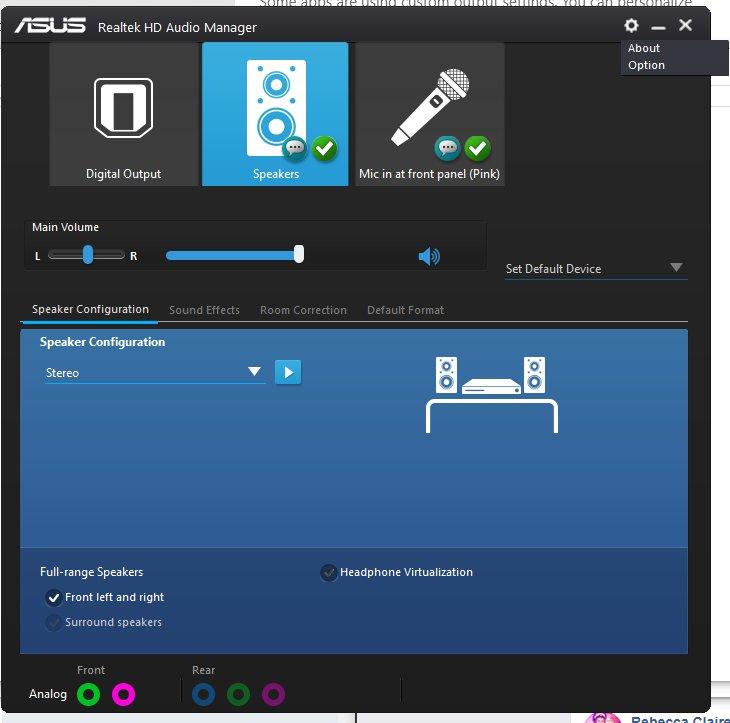 Realtek audio codecs driver   Realtek High Definition Audio