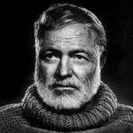 Ernest Hemingway Twitter Photo