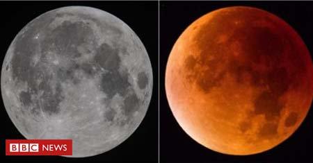 Na próxima sexta-feira, dia 27 de julho, o Brasil verá o que deve ser o mais longo eclipse lunar total do século 21 https://t.co/3DcEWKDGEs