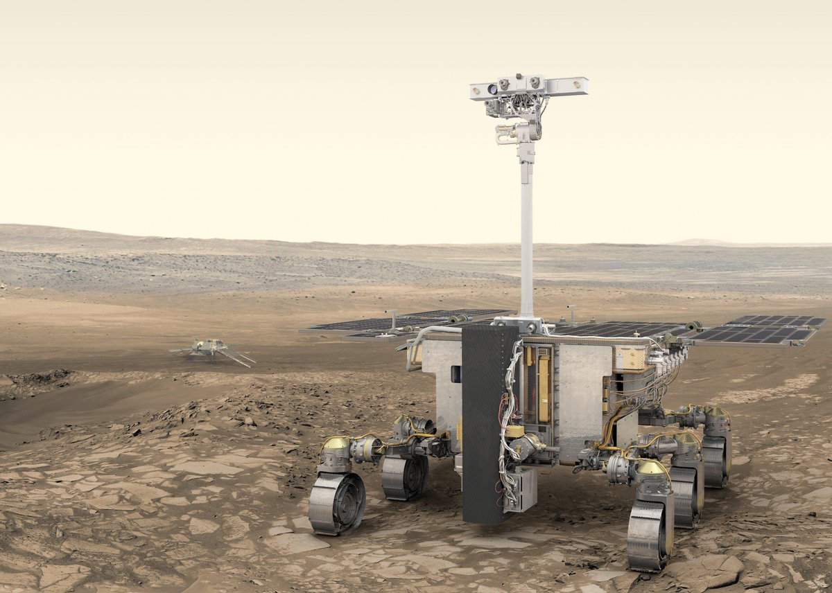 Help name Europe's #ExoMars rover! Anyone from an ESA Member State can enter to name Europe's robot that will roam around and search for life on the Red Planet.  Details: https://t.co/snpYXgCVxo