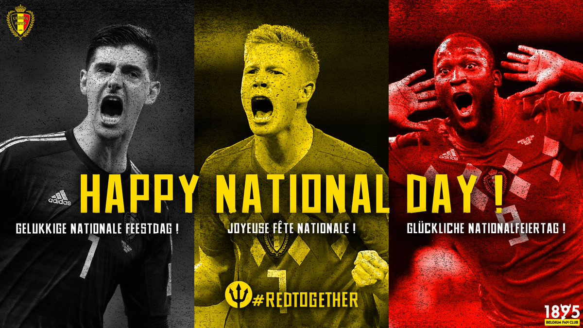 🇧🇪 Happy National Day ! 👑  #REDTOGETHER #Belgium #21July