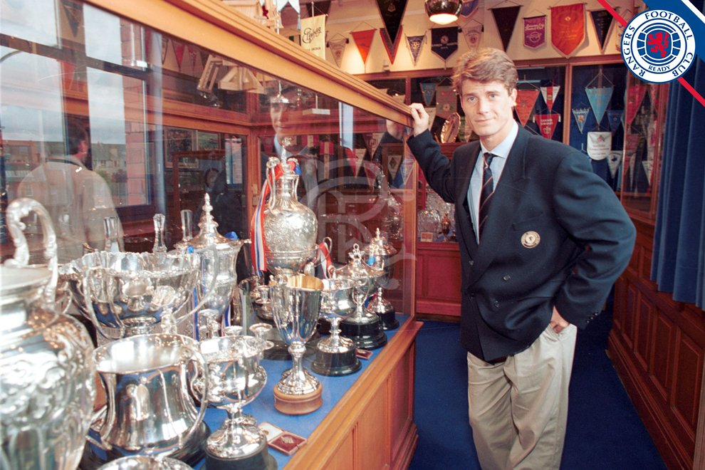🇩🇰 Twenty Four years ago today #RangersFC signed one of the greatest ever players to play for the club, The Great Dane, Brian Laudrup.  ➡️ HALL OF FAME PROFILE: https://t.co/dk7g2z9QyK