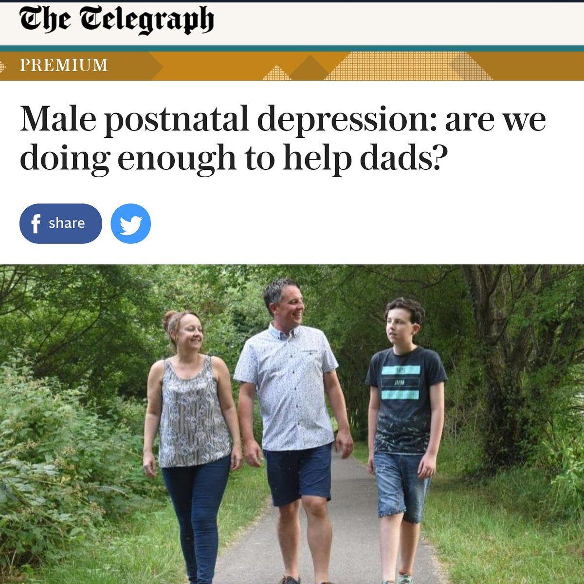 fatherhood mental health a twitteren thank you vjhanley and