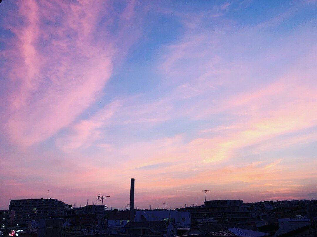 photogenic time✨  #イマソラ #空 #sky  #夕焼け #夕焼け空  #photogenictime #sunesets #sunset #sunsetlovers #sunrise_sunset_aroundworld #sunset_pics #dusk #twilight #sunsetting #sundown #sunset_madness #evening #dream_sunset #sunsetoftheday #nightfall https://t.co/0YmKKlfFuO