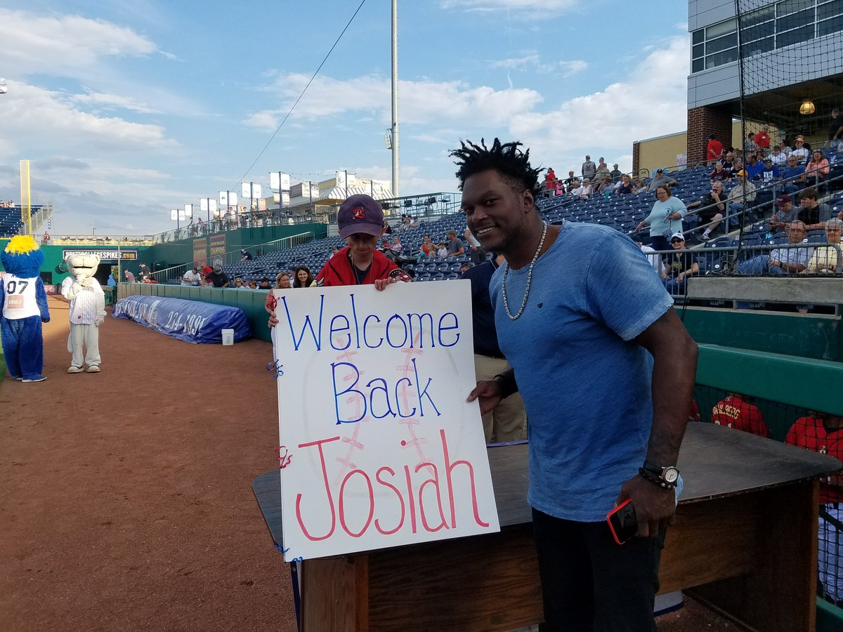 Josiahvierabaseball On Twitter Josiah Glad To Be Back With The