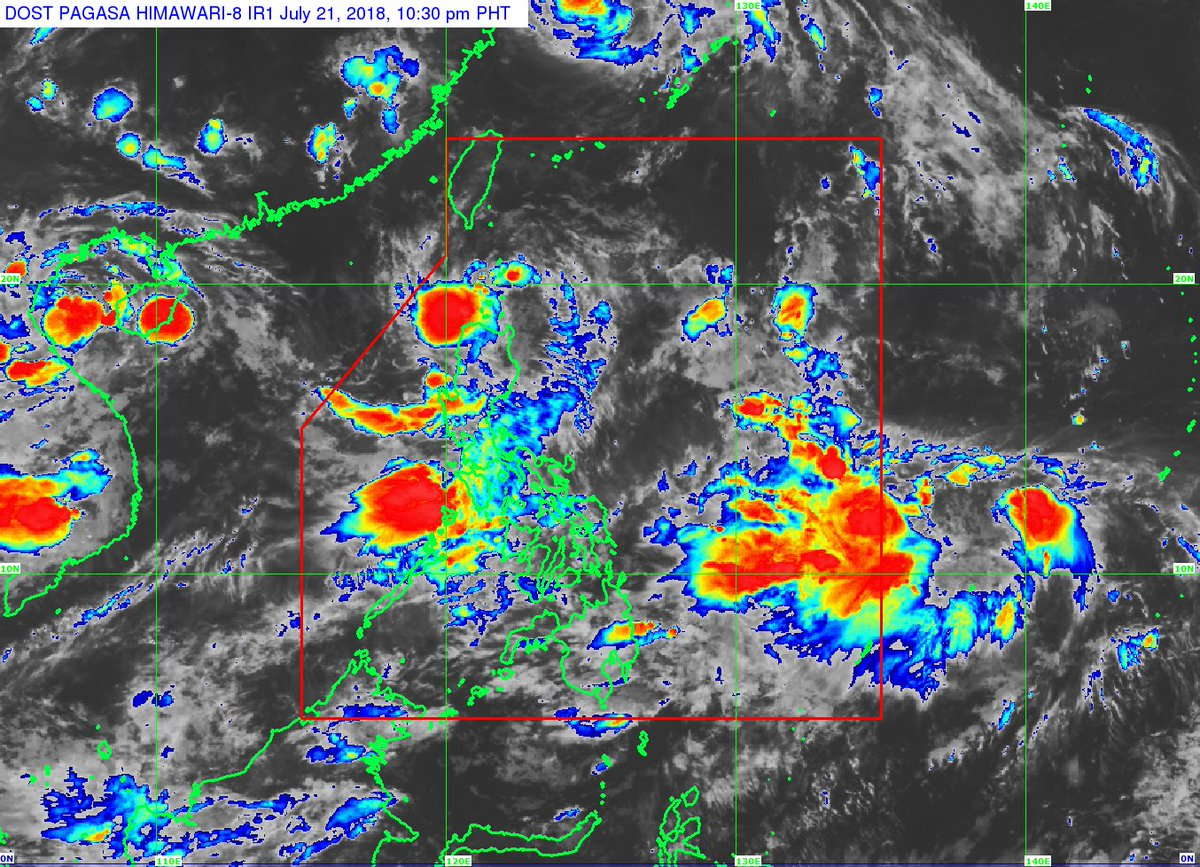 Tropical depression '#JosiePH' has slowed down and is now threatening the Babuyan group of islands.  https://t.co/HEIALQFrMl