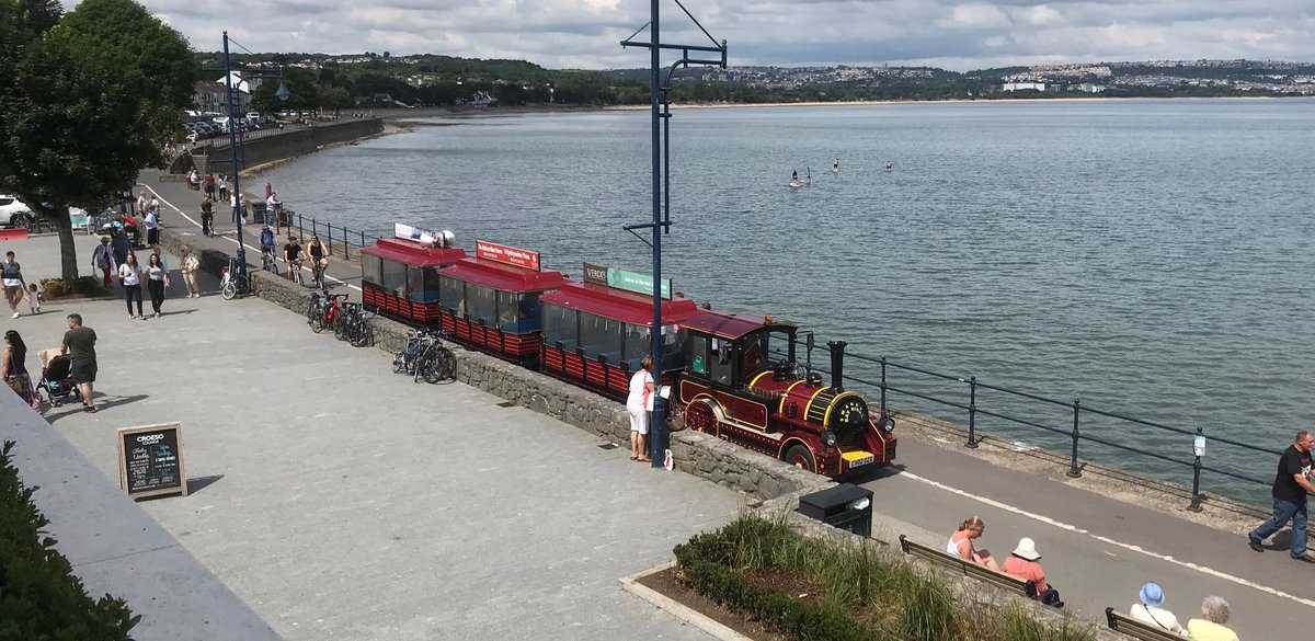 Dio3dsDXUAEAjp3 - The Swansea & Mumbles Railway