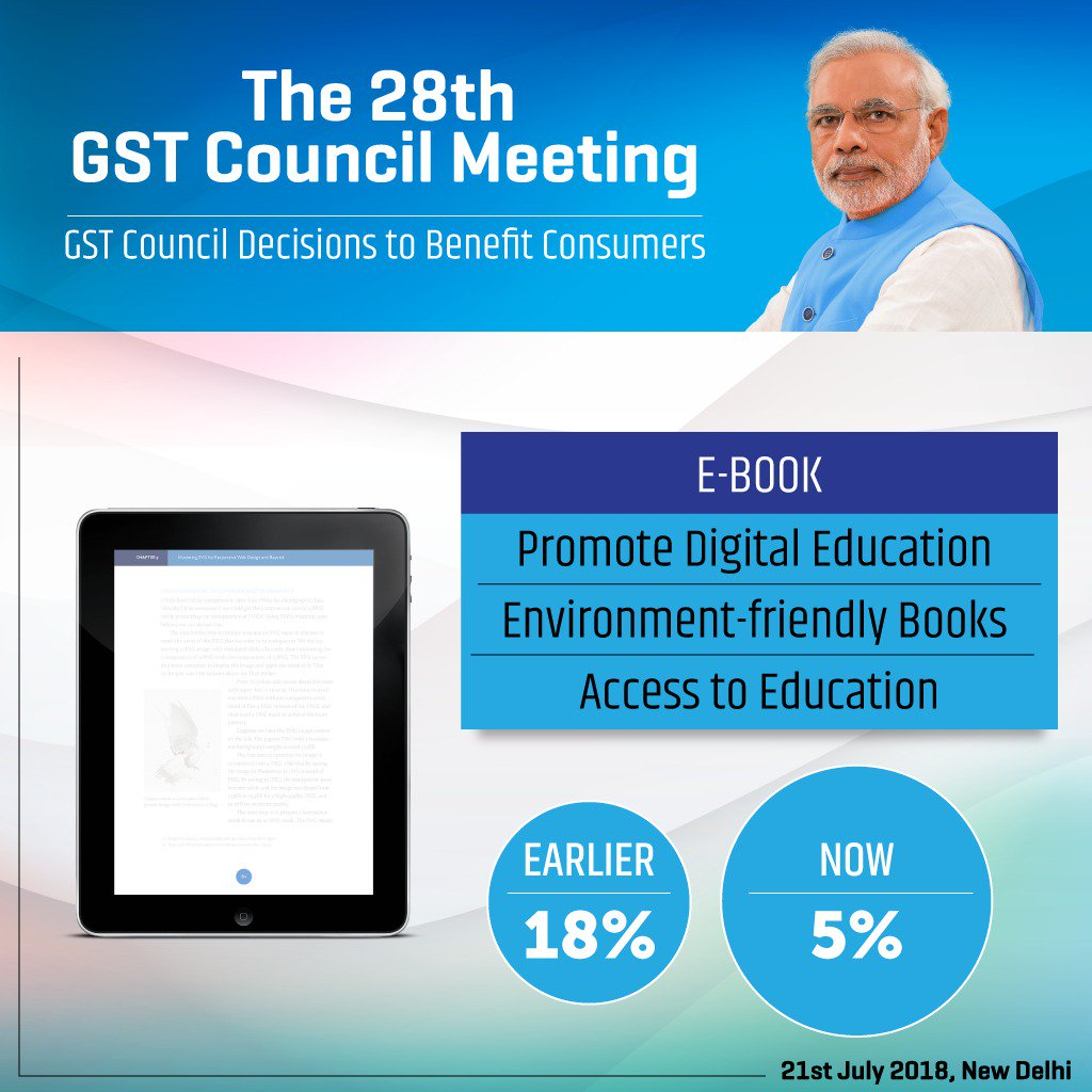 GST Council decisions to benefit consumers.