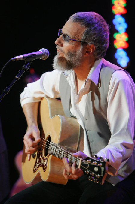Happy birthday to Yusuf Islam (formerly Cat Stevens)! The singer-songwriter is 70 today
