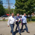 Ministar @AAnticBG položio venac na spomen-obeležju u Lazarevcu i čestitao slavu Sveti Prokopije svim zaposlenima u rudarskom sektoru Partnerskim odnosom sa #EPS i sindikatima zalažemo se za ispunjnje svih prava rudara Energetska stabilnost rezultat je  zajedničkog napornog rada