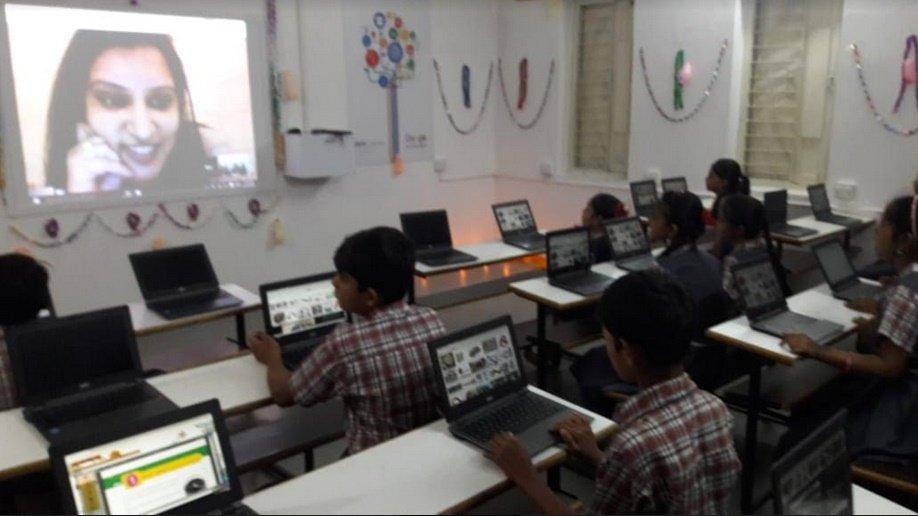 અમદાવાદની ચાંદલોડીયા સરકારી પ્રાથમિક શાળા દેશની સૌ પ્રથમ 'ગુગલ સ્કુલ'