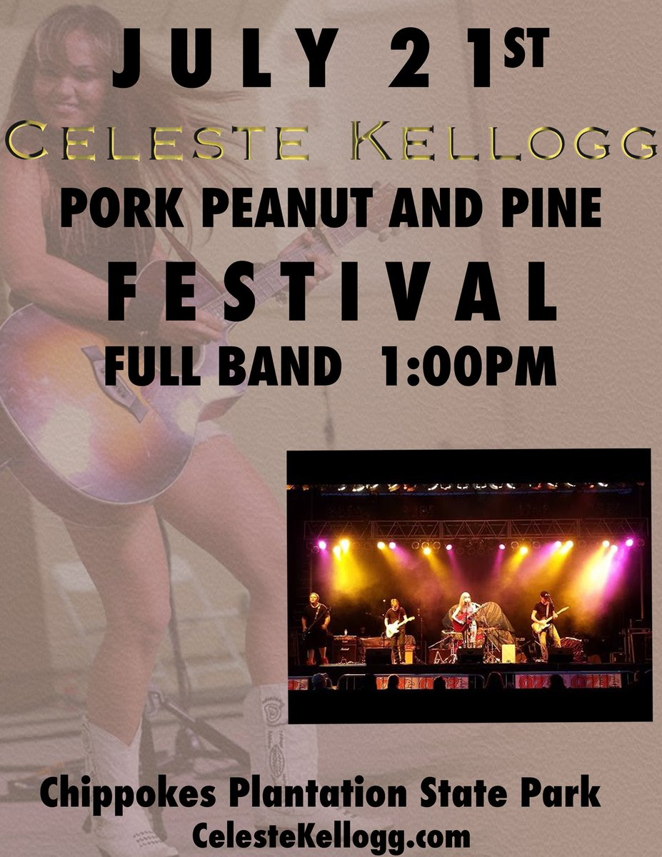 Gonna get our #CountrySwagger on today at the Pork, Peanut and Pine Festival in Surry, VA!  Would love to see y'all there!  https://t.co/HZhWGtBsEb
