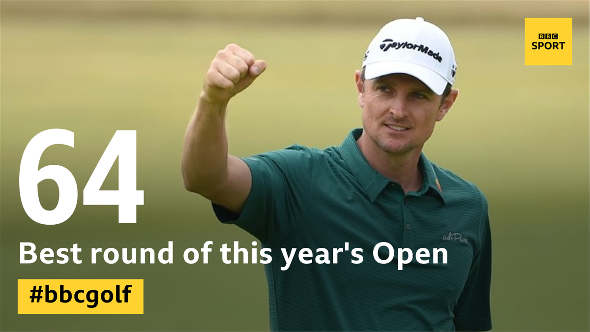 Justin Rose.  In the mix.  https://t.co/oiR2d5VYsY #TheOpen  #bbcgolf