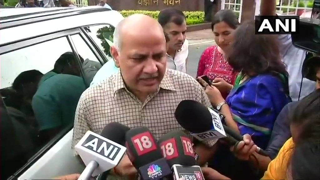 Sanitary napkins have been exempted from the current Goods and Service Tax (GST) regime along with some other products: Manish Sisodia, Delhi Finance Minister after attending the GST council meeting.