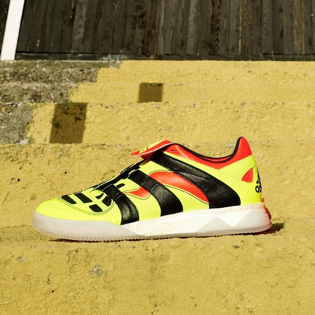 low priced d6a40 265ad adidas Predator Accelerator TR  Solar Yellow Black Red    Now available  online. Sizes range from UK7 - UK11 (including half sizes), priced at £220.