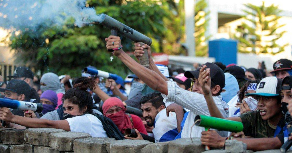 U.S. condemns 'Ortega regime' amid deadly protests in Nicaragua https://t.co/EN6oJrIZFu