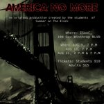 Image for the Tweet beginning: America No More original production