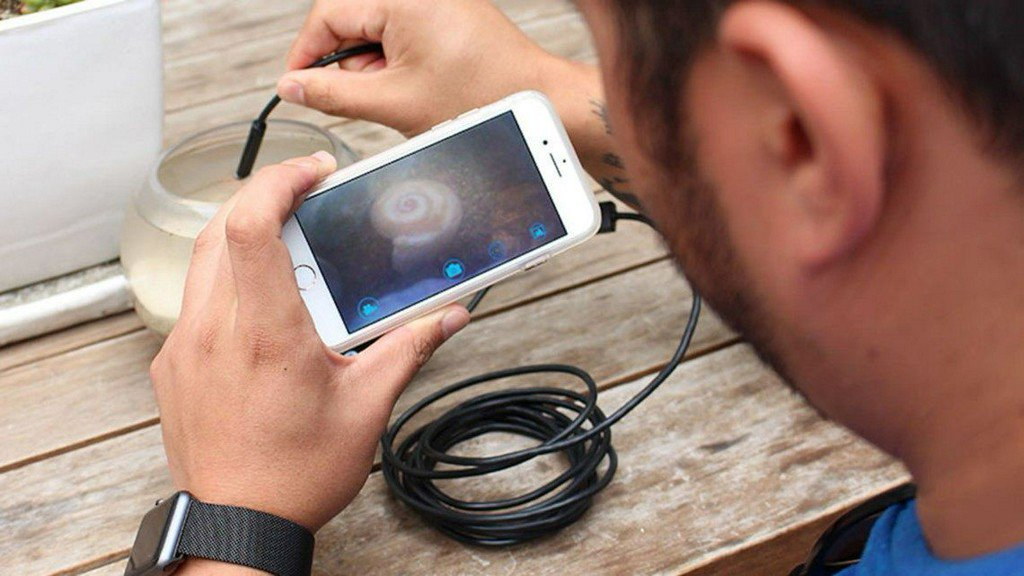 This WiFi endoscopic camera lets your phone go where it's never gone before https://t.co/KrKVrGB6b6