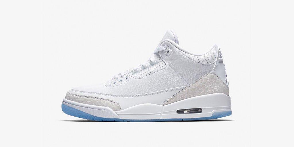The @Jumpman23 Air Jordan 3 'White/White'  Shop 🇺🇸 https://t.co/LZxRM3wyzO