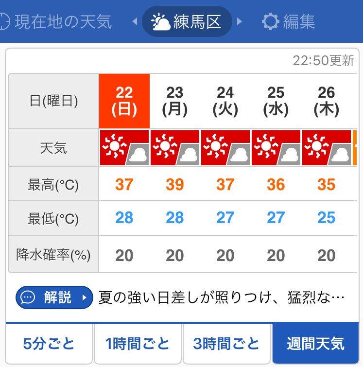 練馬 区 の 天気