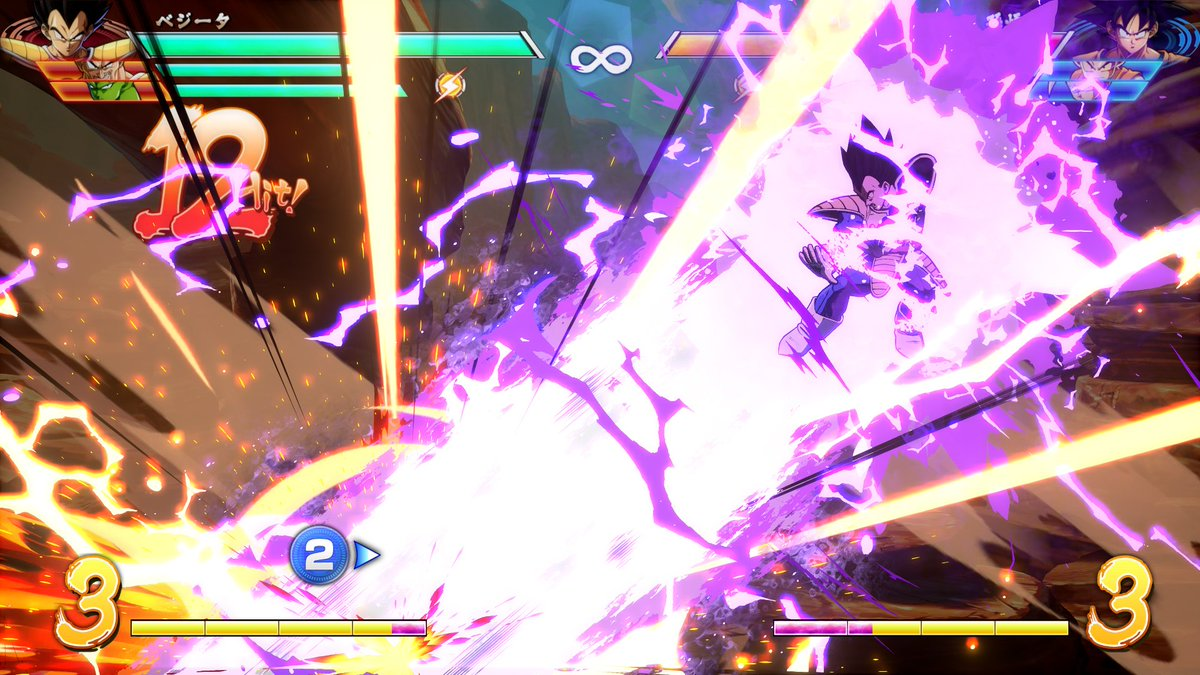 The time has come to unleash NEW DRAGONBALL FighterZ screenshots from DLC 3! Are you ready to harness the power of Goku's Spirit Bomb & Vegeta's Galick Gun?  Get ready to join the fight!  is #DRAGONBALLFighterZavailable now on Xbox One, PS4, & Steam! https://t.co/qBSpAYSwyJ