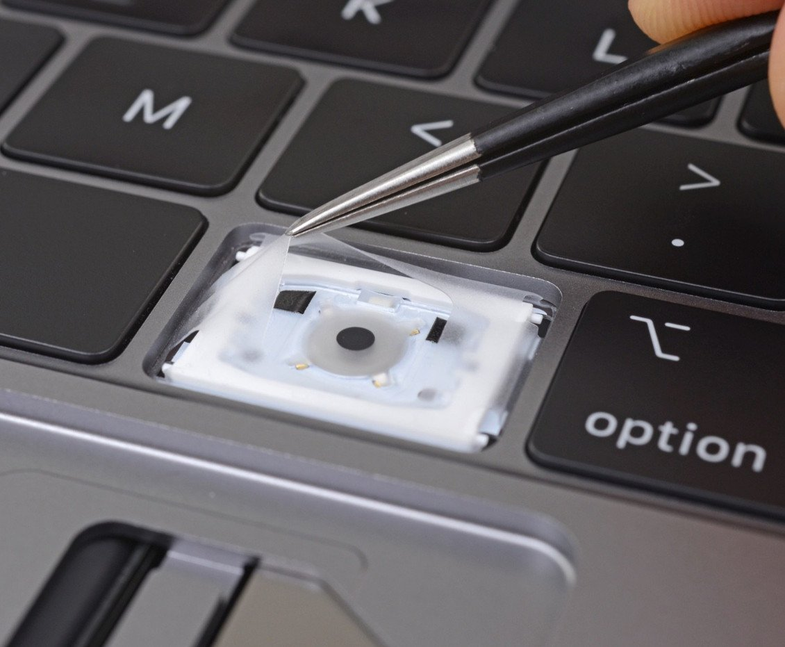 Leaked Apple service document confirms new MacBook Pro keyboard is designed to fix dust problems https://t.co/LVJLS1UKPu