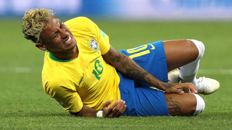 After the games I stay back for four or five hours putting on ice, its complicated but if you havent experienced that, you will never understand. Neymar has his say on diving claims aimed at him: skysports.tv/YBYxxA
