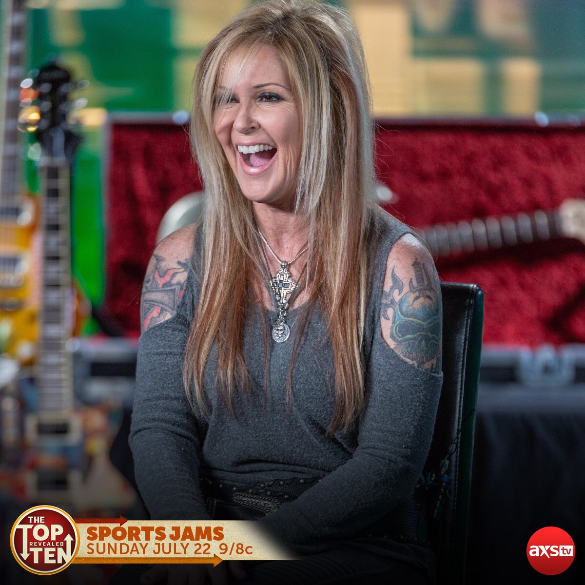 This week on @axstvs show #TheTopTenRevealed were featuring the best sports arena jams! Set your DVR now using this link: vupulse.com/c/3263