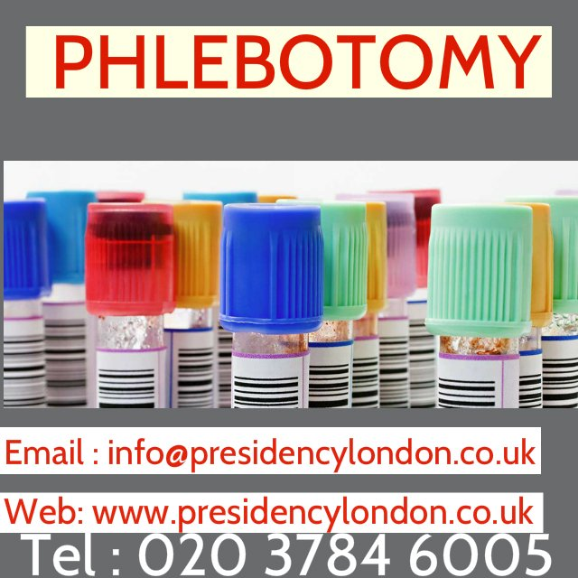 Presidency London On Twitter Phlebotomy Course London Nhs