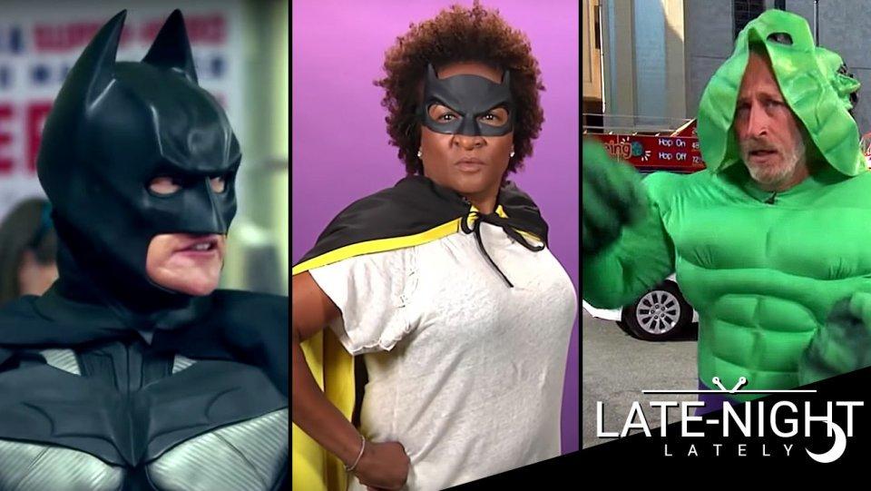 Late-Night Lately: Conan at #SDCC, 'Batgirl' auditions, Jon Stewart cosplay https://t.co/UplsyQma81