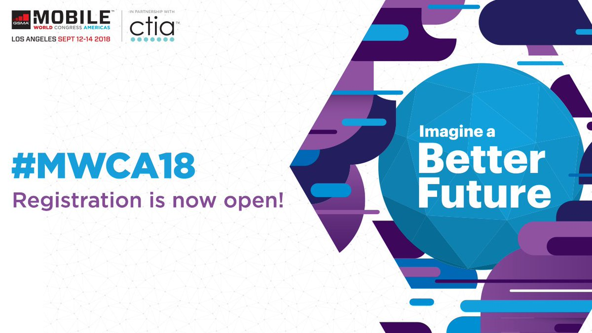 Join us in Los Angeles this September for #MWCA18 to get an exclusive first look at the latest innovations in #mobile. Register now https://t.co/cA6JvyNc8L