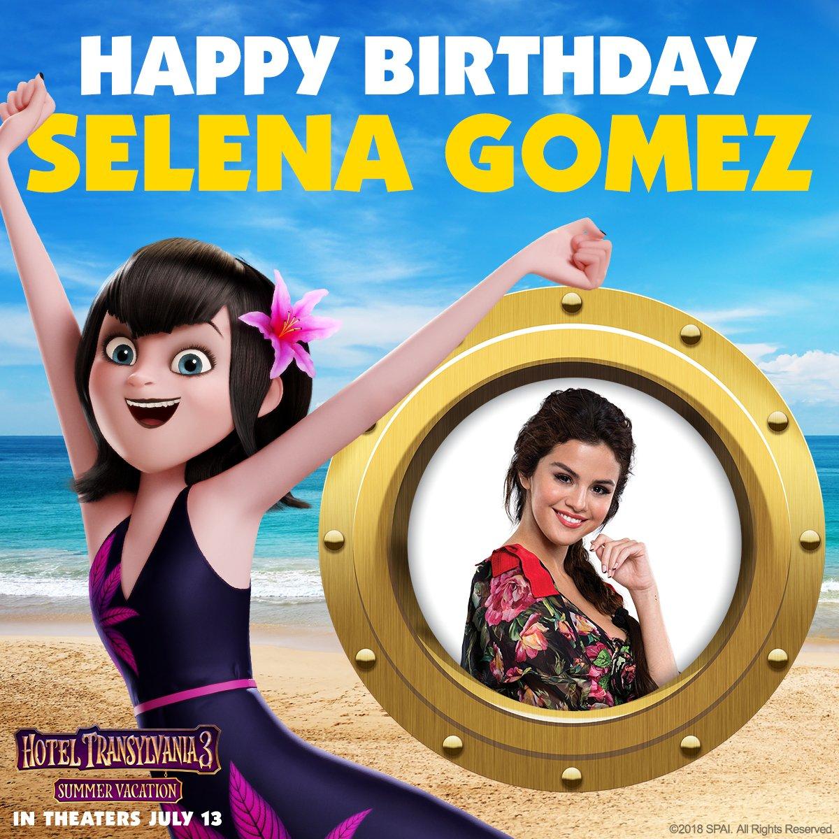 Join us in wishing #HotelT3's @SelenaGomez a happy birthday! �� https://t.co/gaAkijNepo
