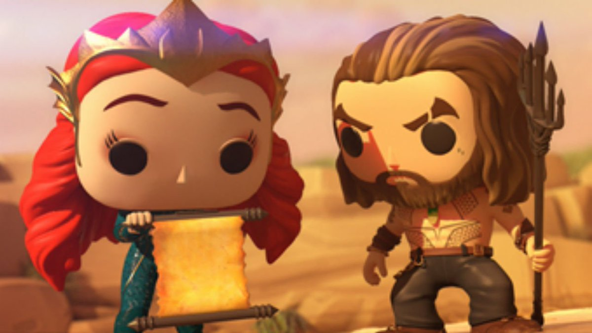 Exclusive: Watch the new Funko Pop! Vinyl animated Aquaman short film, 'Lost Relic,' that premiered at #SDCC18   https://t.co/3mso576gDk