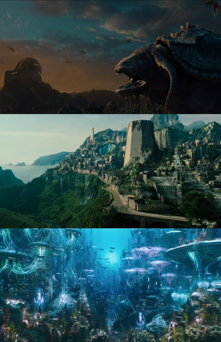 KRYPTON THEMYSCIRA ATLANTIS Welcome to the worlds of DC.