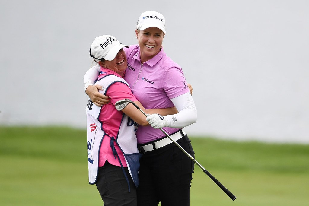 Brittany Lincicome shot a 1-under 71 today at the Barbasol Championship to become the 1st woman to break par in a PGA TOUR round since Michelle Wie in 2006.