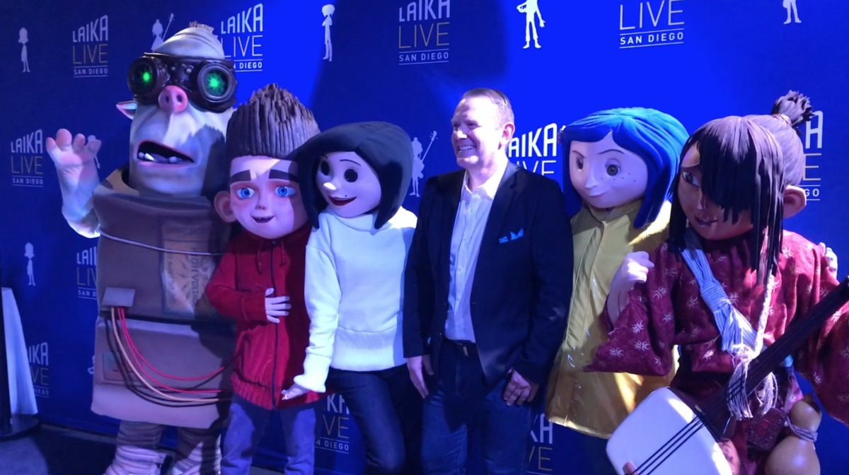 10news On Twitter Want To Take The Kids To Comic Con The Makers Of Coraline Have A Family Friendly Experience Https T Co Tnahaiq9xw