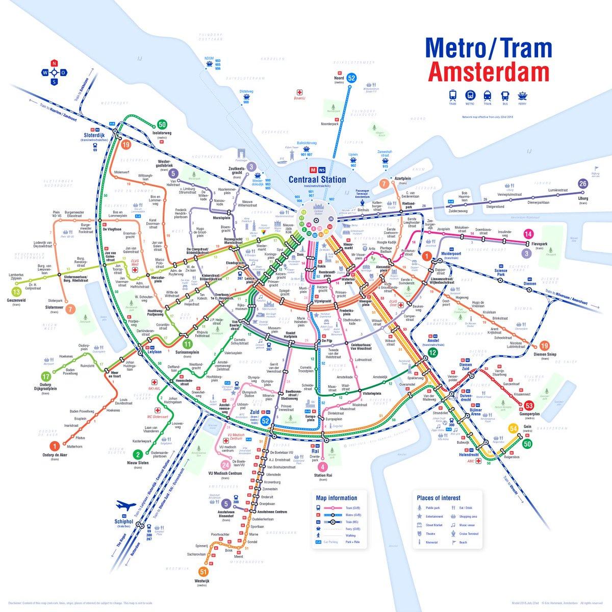 Erik Eggens Pa Twitter Nieuwe Kaart Van Het Openbaar Vervoer
