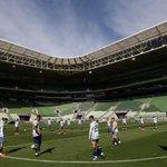 Palmeiras x Atlético Twitter Photo