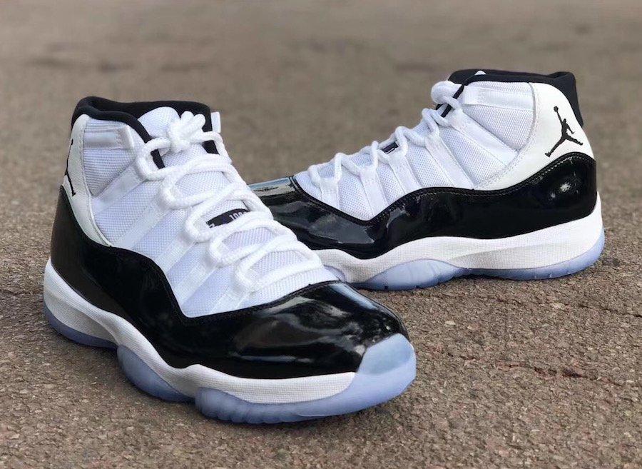 """8e740de92640 Air Jordan 11 """"Concord"""" Color  White Black-Dark Concord Style Code  378037-100  Release Date  December 8"""