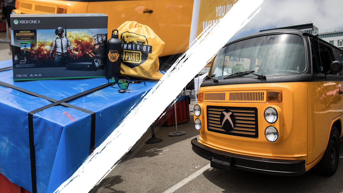 #SummerofPUBG comes to #SDCC2018. What would you do if you won a bus? #PUBG