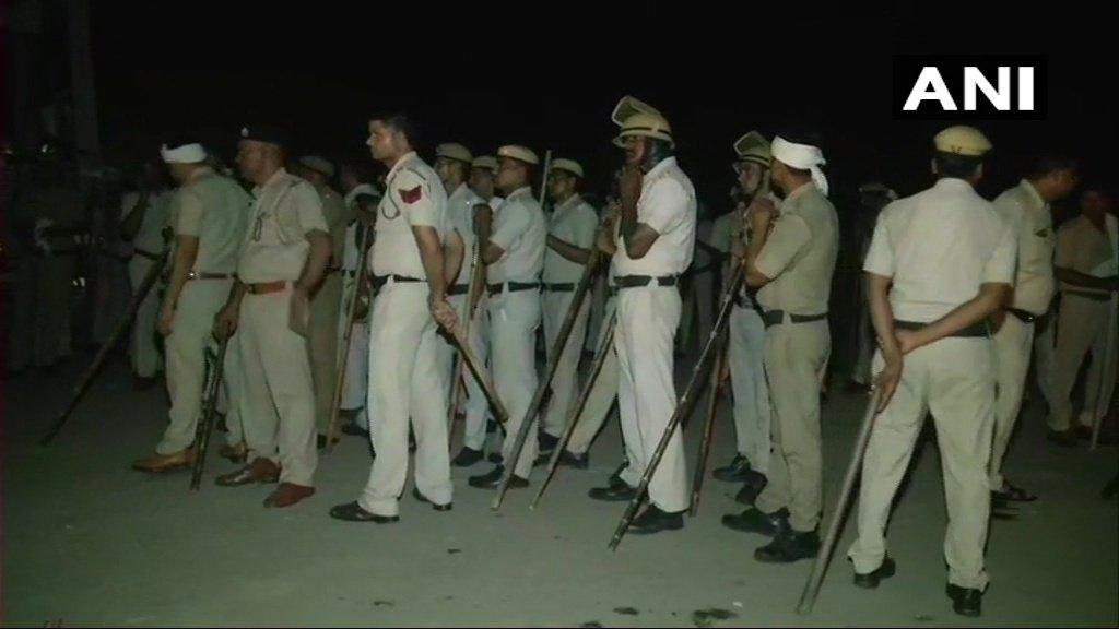Alwar lynching case: Security beefed up on Haryana- Alwar road.  #Rajasthan