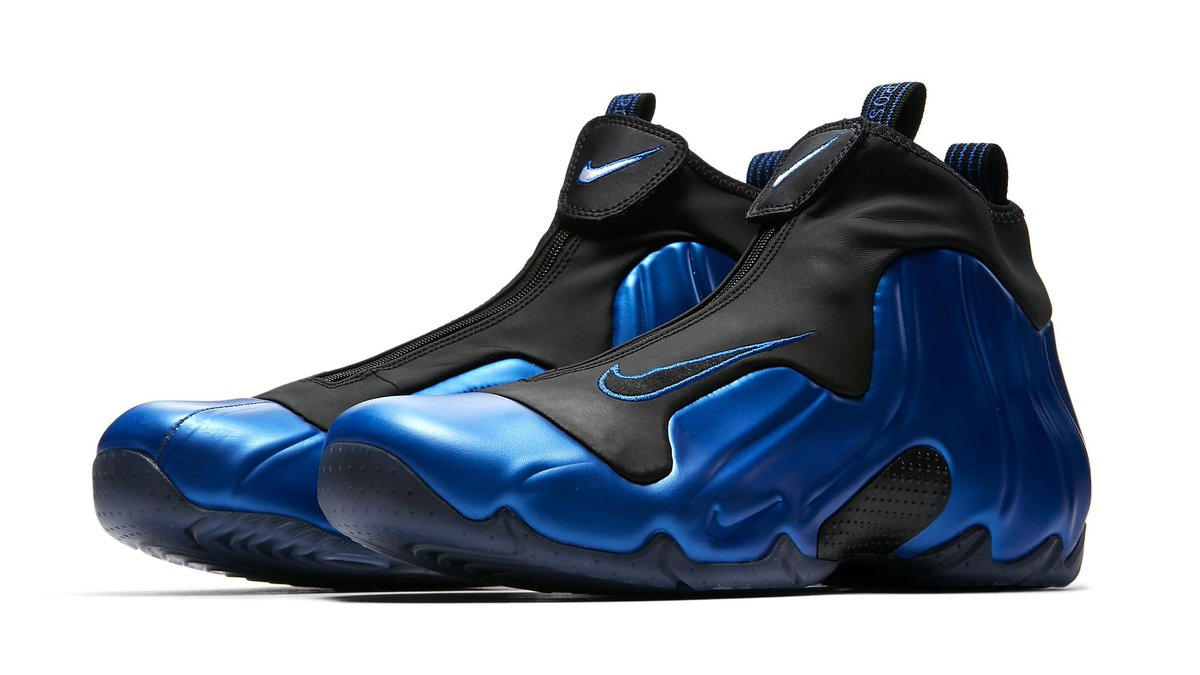 size 40 86926 d564d inspired by penny hardaway s foamposites the dark neon royal nike air  flightposite is coming soon