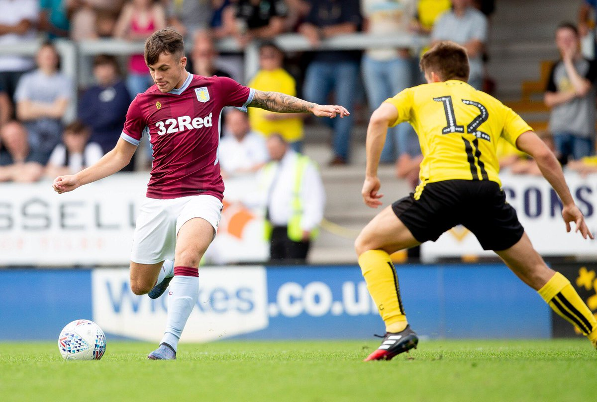 Nice to get on today and get more minutes under my belt⚽️#avfc