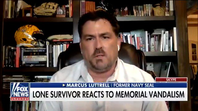 .@MarcusLuttrell It was a 14-year-old boy that destroyed Lt. Michael P. Murphy's memorial and it's tough because we all make mistakes but he needs to know how big of a deal what he did was