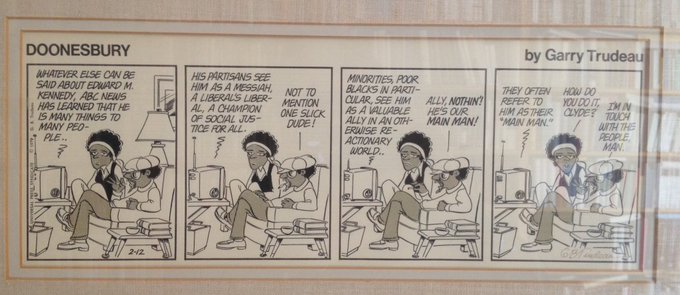 Happy Birthday, Garry Trudeau! He\s in touch with the people, too.