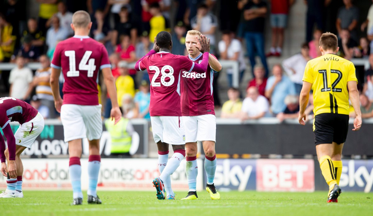 Just how good was @De_Laet_R, today? 💪 See for yourself with our full match re-run 👉 bit.ly/2uQYUfC #PartOfThePride #AVFC