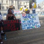 More from Chagossian occupation of Trafalgar Square