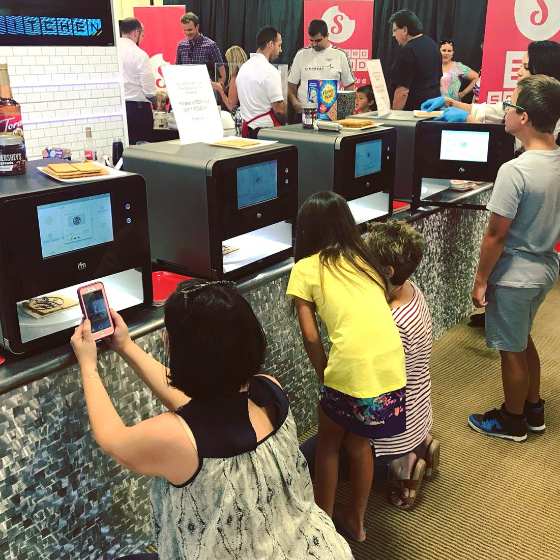... Palm Beach Gardens, FL... Fun For All Ages! Come And See U0026 Taste  Foodini 3D Printed Su0027mores... Choose Your Print Design.