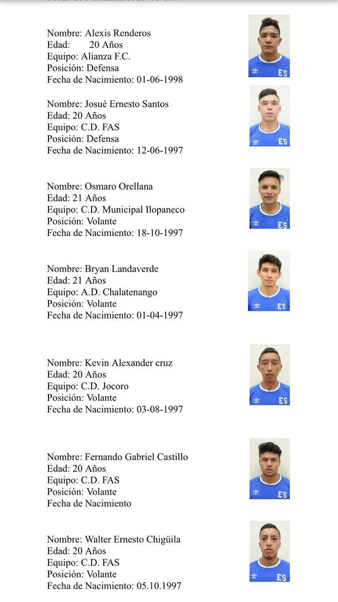 Sub-21: Preparacion a Los juegos deportivos centroamericanos y del caribe 2018. DipbNjhVQAEXv4E