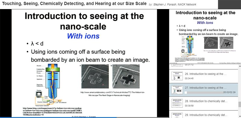 nanohub on twitter online presentation touching seeing